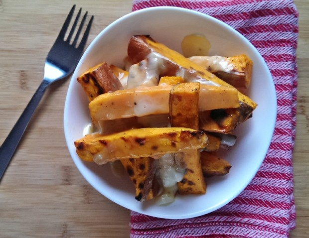 This gluten free yam poutine is healthier than you think, try out this ...