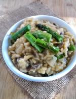 asparagus-mushroom-risotto