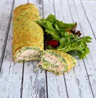 Spinach-and-tuna-roulade