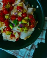 Broiled Cod with Avocado Salsa