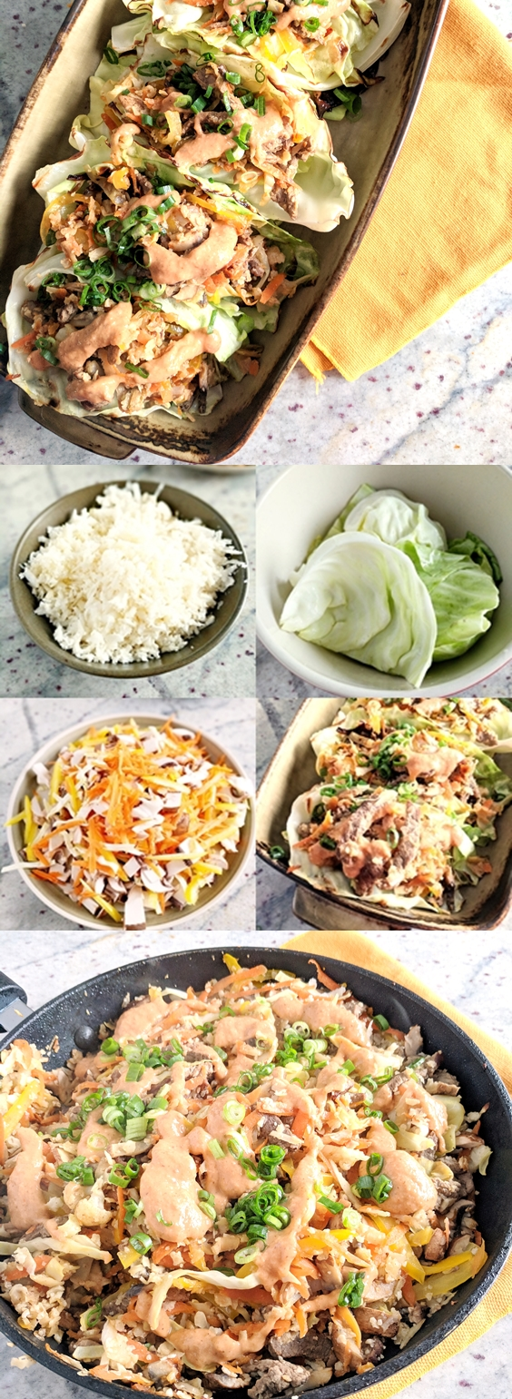 Low Oxalate Beef Cabbage Wraps