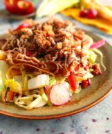 Slow Cooker Recipe Pulled Pork Salad