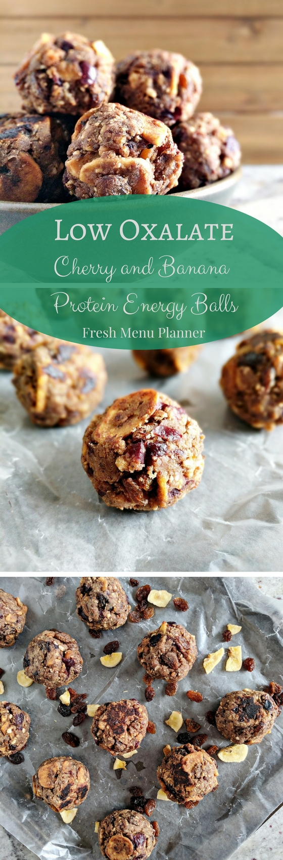 Low Oxalate Protein Balls