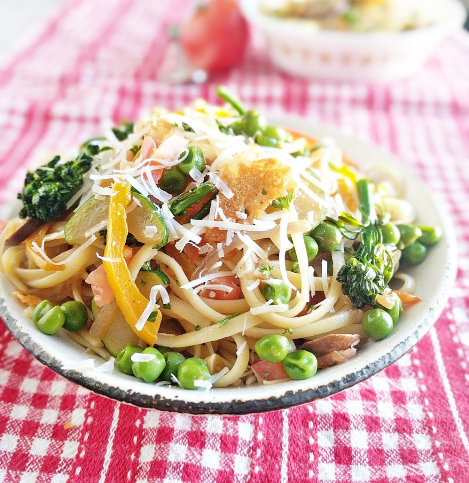 Simple And Nutritious: A Simple And Healthy Pasta Primavera For SpringFresh Menu